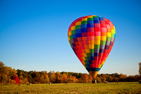 Hot Air Balloon in Autumn