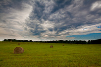 Hay Field Clouds 2